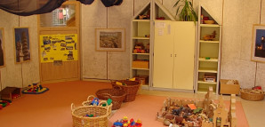 Gruppenraum im Kinderhaus Hasenbergstraße
