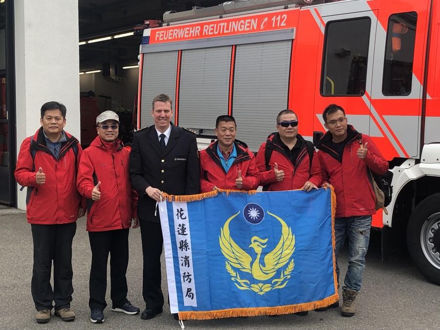 Delegation aus Taiwan