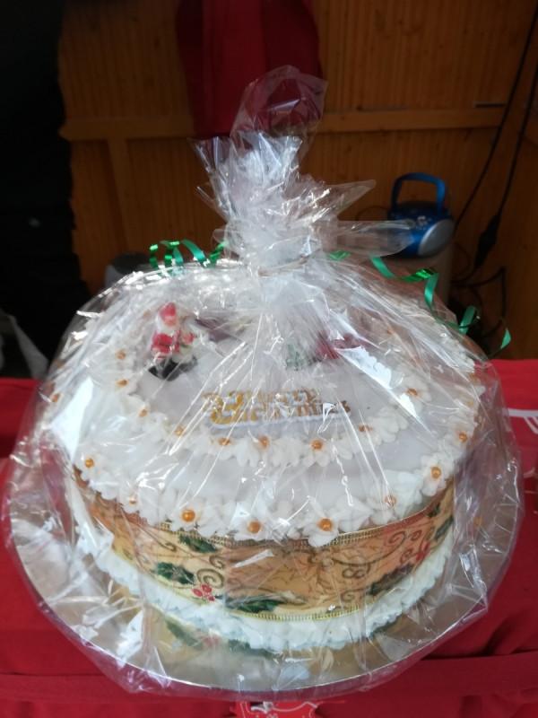 English Christmas Cake wog 3,346 Kilogramm
