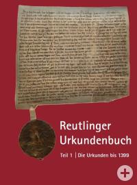 Reutlinger Urkundenbuch - Titelseite