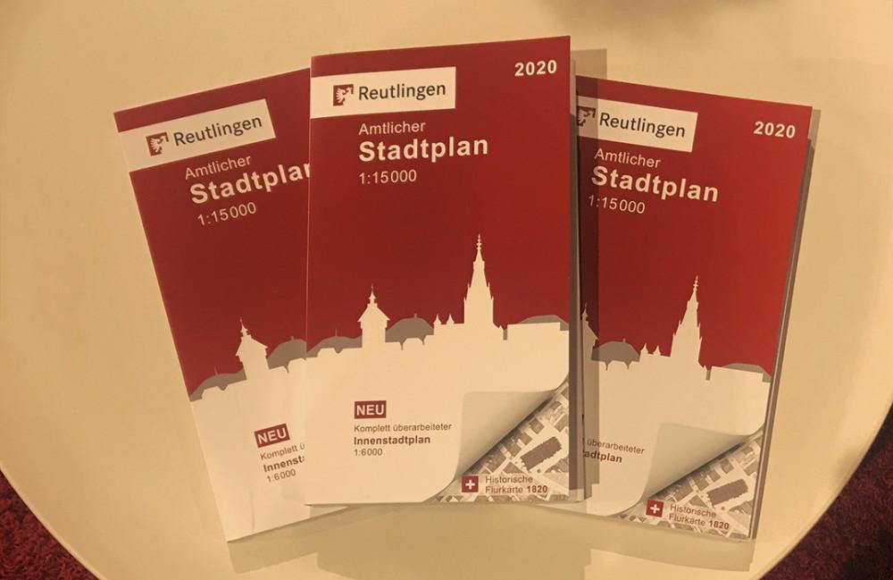 Reutlinger Stadtplan 2020