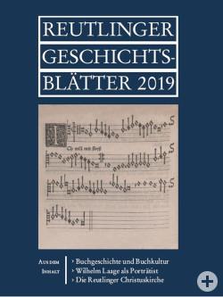Titelblatt Reutlinger Geschichtsblätter 2019