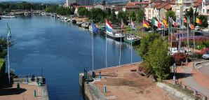 Der Hafen von Roanne