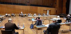 Diskussion im großen Saal