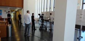 Vorstellung Präsentation der Arbeiten mit Kamera