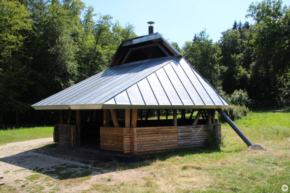 Grillhütte auf der Jungviehweide