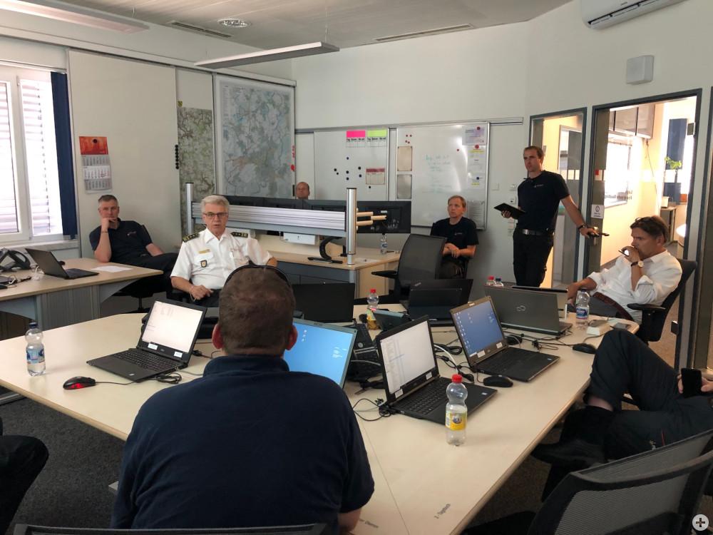 Führungsstab der Feuerwehr Reutlingen