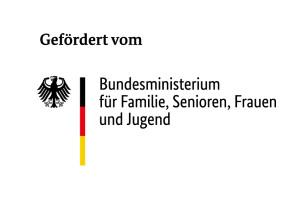 Logo_gefördert durch das Bundesministerium für Familie, Senioren, Frauen und Jugend