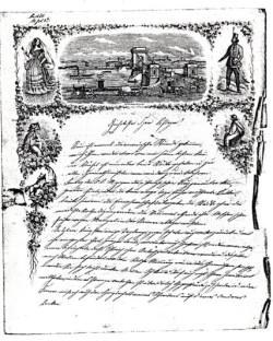 Brief Otto Baur