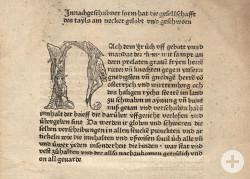 Inkunabel Seite 1