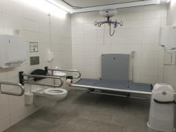 Toilette für alle Rathaus innen