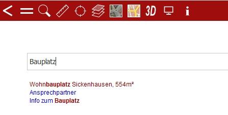 """Suchergebnis für das Wort """"Bauplatz"""""""