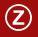 Ein umrandetes Z als Symbol für die Zeichenerklärung