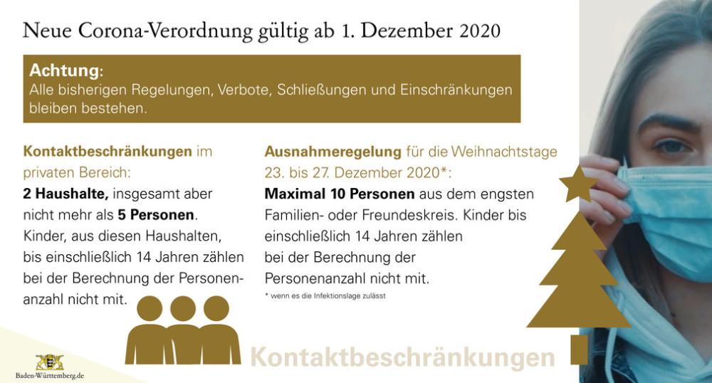 Neue Corona Verordnung Ab 1 12 2020 Stadt Reutlingen