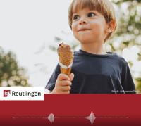 """Foto Kind mit Eis zum Radiospot """"Eis"""""""