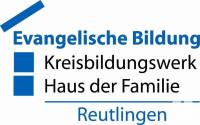 Logo Evangelische Bildung - Kreisbildungswerk Haus der Familie Reutlingen