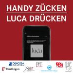 Social Media Post Luca_Handy zücken, Luca drücken