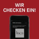 Social Media Post Luca_Wir checken ein_ohne Logos