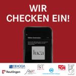 Social Media Post Luca_Wir checken ein