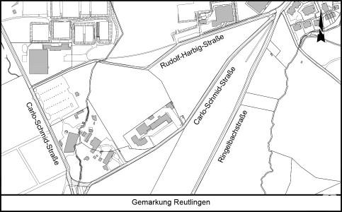 Übersichtsplan zur Straßenbenennung der Carlo-Schmid-Straße