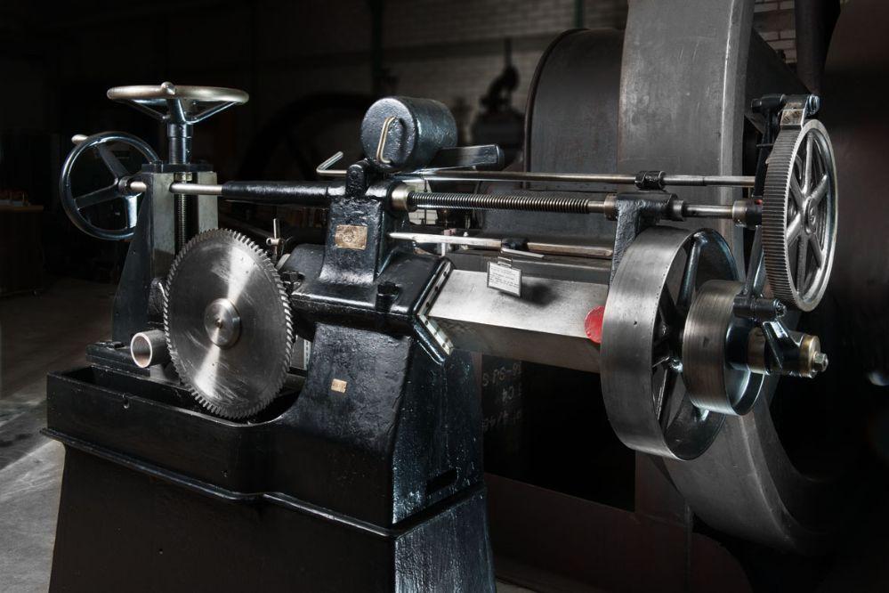 Kaltkreissäge  aus der Gustav WErner Maschinenfabrik