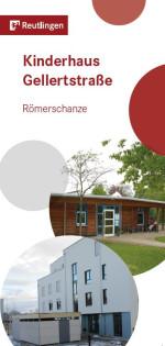 Titelbild Flyer Städtische Verbundeinrichtung Kinderhaus Gellertstraße