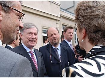 Bundespräsident Horst Köhler zu Gast in Reutlingen