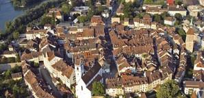 Luftbild von Aarau