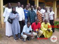 Die Gründungsmitglieder des Vereins AREBO