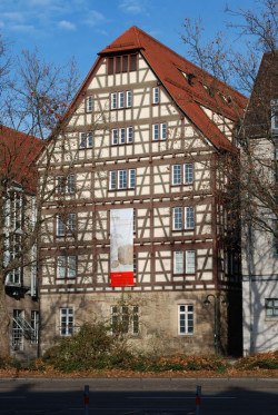 Ansicht Kunstmuseum Spendhaus von der Lederstraße